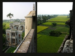 View from a Kaiping Diaolou